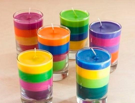 Изготовление дизайнерских свечей