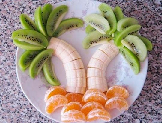 Кулинария для детей – фруктовые шедевры