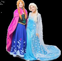 Анна и Эльза (Холодное сердце)